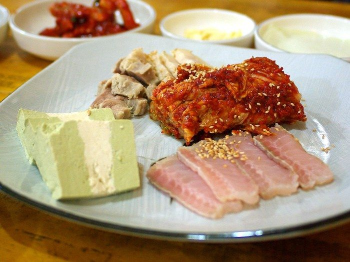Korean Hongoe fermented fish