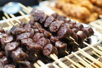 Korean Sundae Intestine Sausage