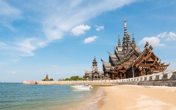 Pattaya top attractions - sanctuary of truth