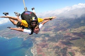 Oahu Hawaii - Best Places in the World to Skydive