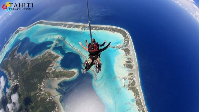 Tahiti - Most Beautiful Places in the World to Skydive