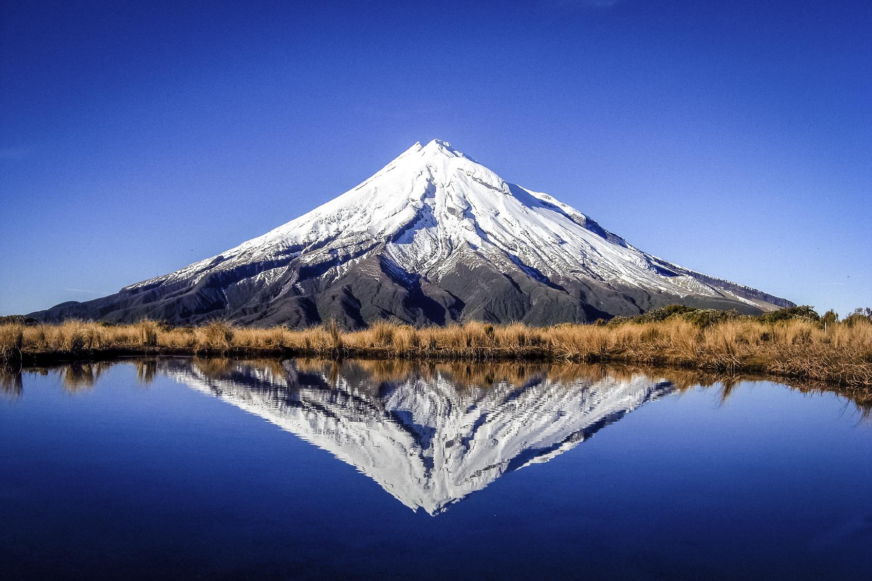 Mt Taranaki, New Zeland