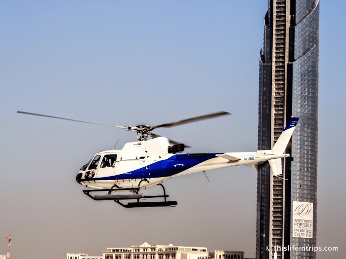 Explore the luxury side of Dubai - Travel by helicopter