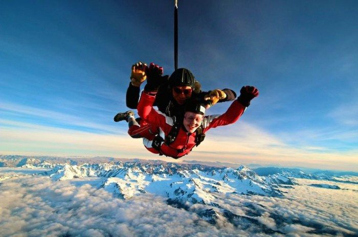 Best Places in the World to Skydive - Franz Josef Glacier New Zealand