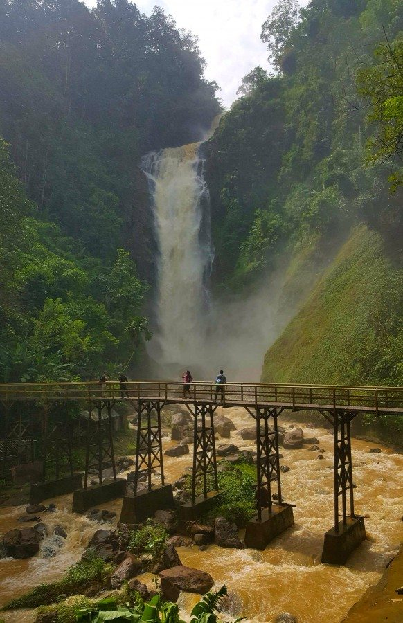Curup Tenang Bedegung Waterfall- South Sumatera