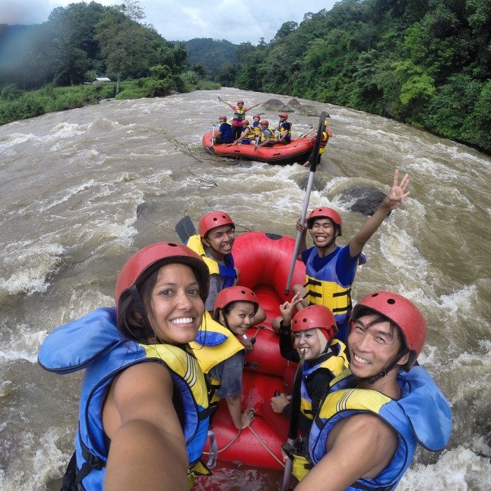 Rafting- South Sumatra