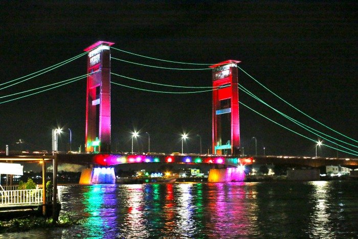 Ampera Bridge, Palembang, South Sumatra