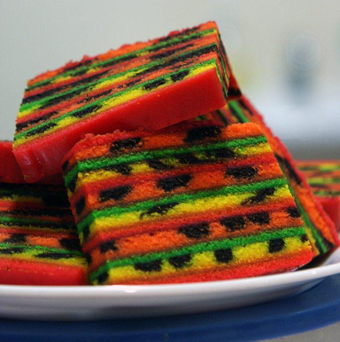 Kek Lapis (Layer Cake) Kuching Sarawak