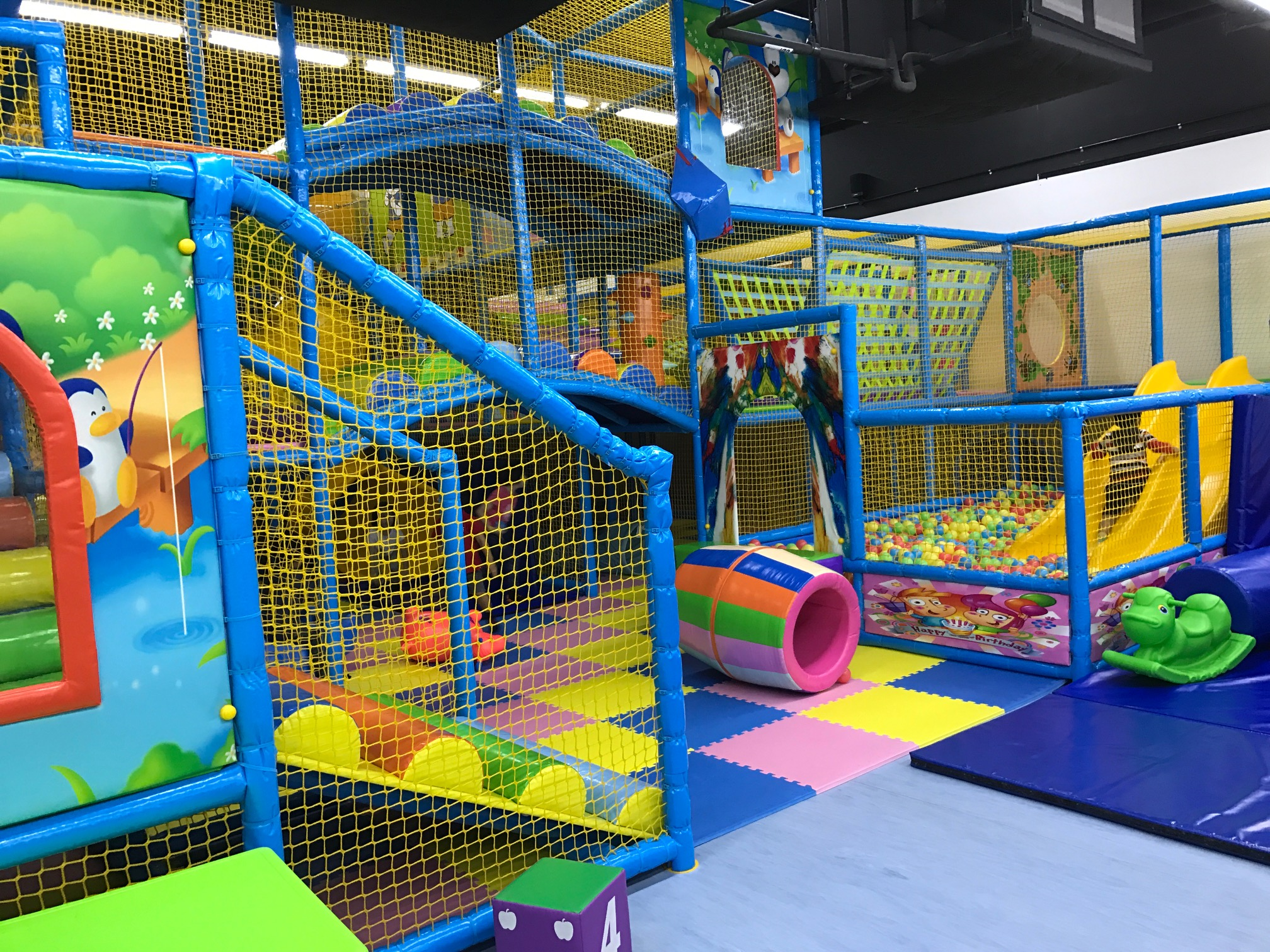 Bearyfun Gym Indoor Playground and Trampoline Park at Changi