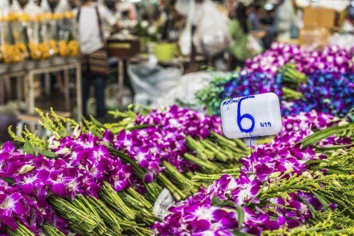 Riverside, Bangkok- Flower Market