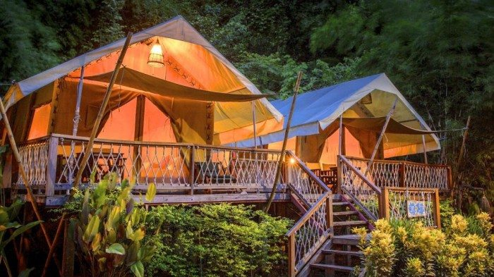Hintok River Park - Glamping in Asia