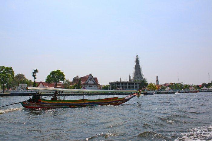 Riverside Bangkok- Longtail Boat