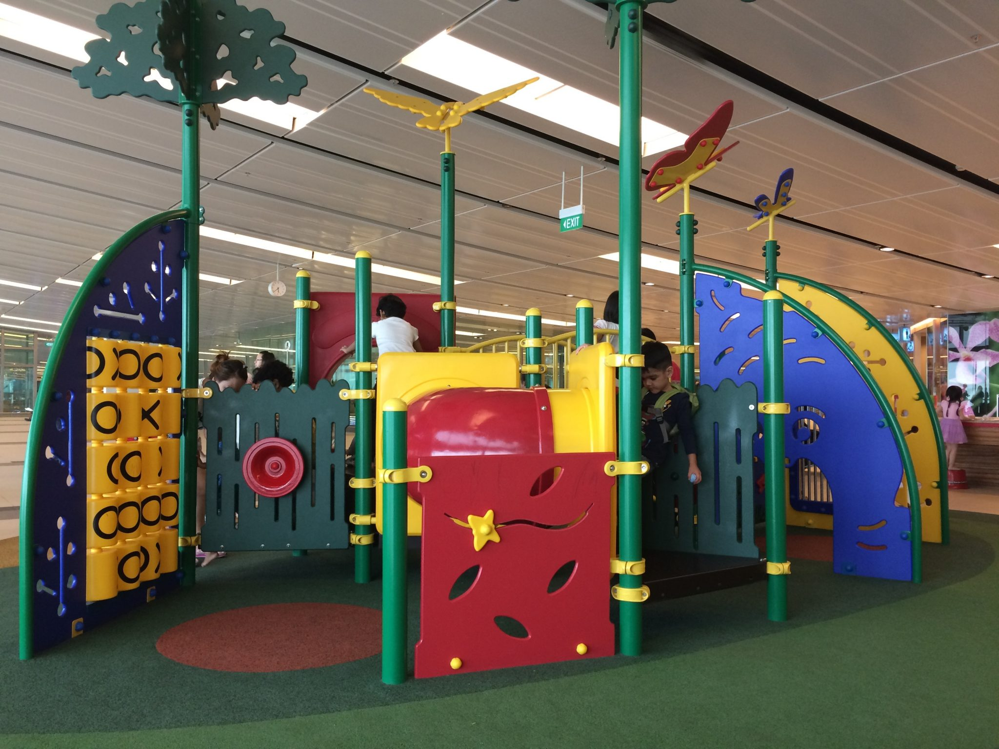 Play Area at Changi Airport