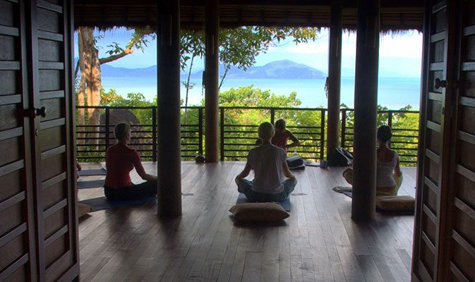 5 Exotic Yoga Retreats in Asia