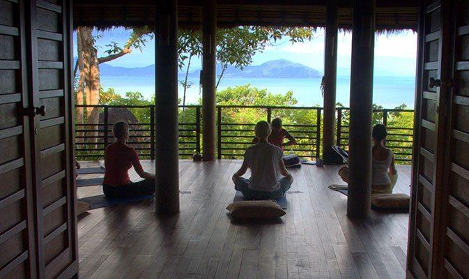 5 Exotic Yoga Retreats in Asia