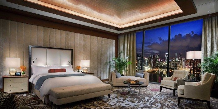 Presidential Suite - Photo Credit Marina Bay Sands
