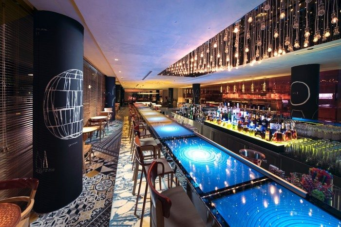 Beast & Butterflies Bar inside MSocial Singapore - New hotel in Singapore 2016