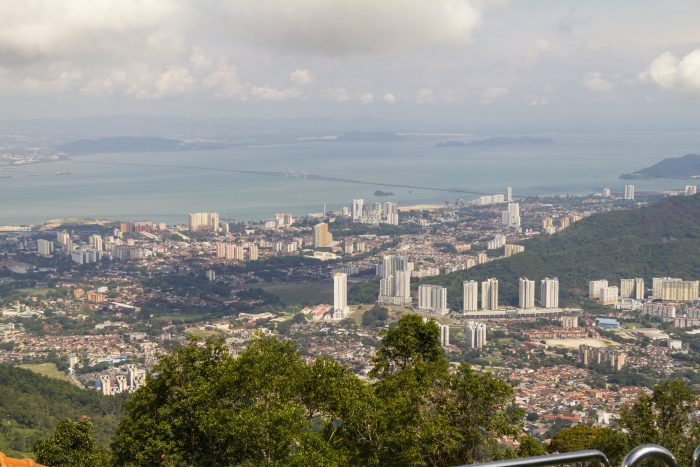 View from Penang Hill - Penang Top Attractions