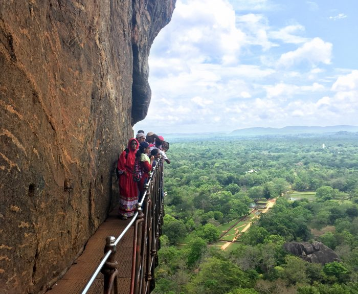 Sigiriya UNESCO World Heritage Site in Sri Lanka
