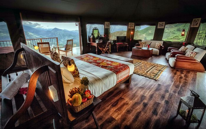 Glamping at Madulkelle Eco Lodge and Tea Plantation in Kandy, Sri Lanka - Honeymoon Suite