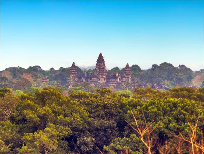 Angkor Wat - Ancient Ruin in Asia