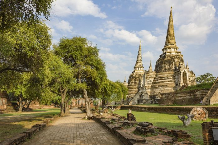 Ayutthaya - Ancient Ruins in Asia