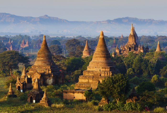 Bagan - Ancient Ruins in Asia