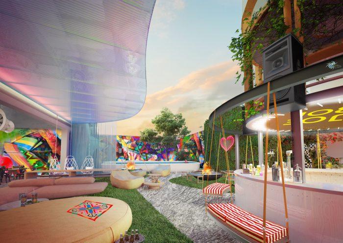 Garden Concept at a Jo&Joe by Accor