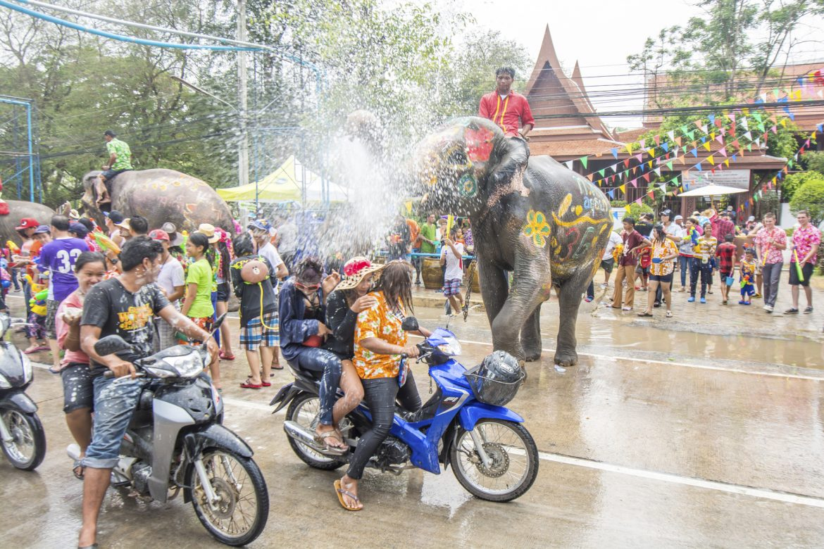 Songkran - Top Festivals in Asia