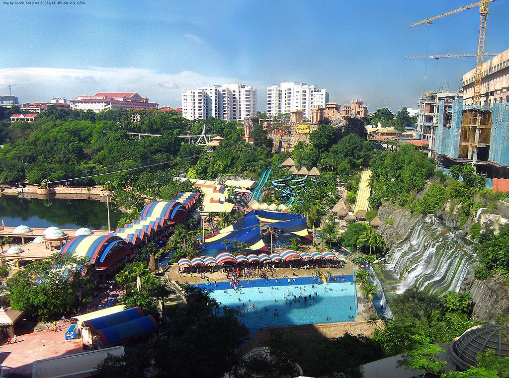 sunway lagoon theme park malaysia
