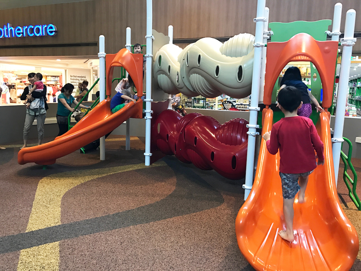 Paragon Playground - Things to do with kids in Singapore