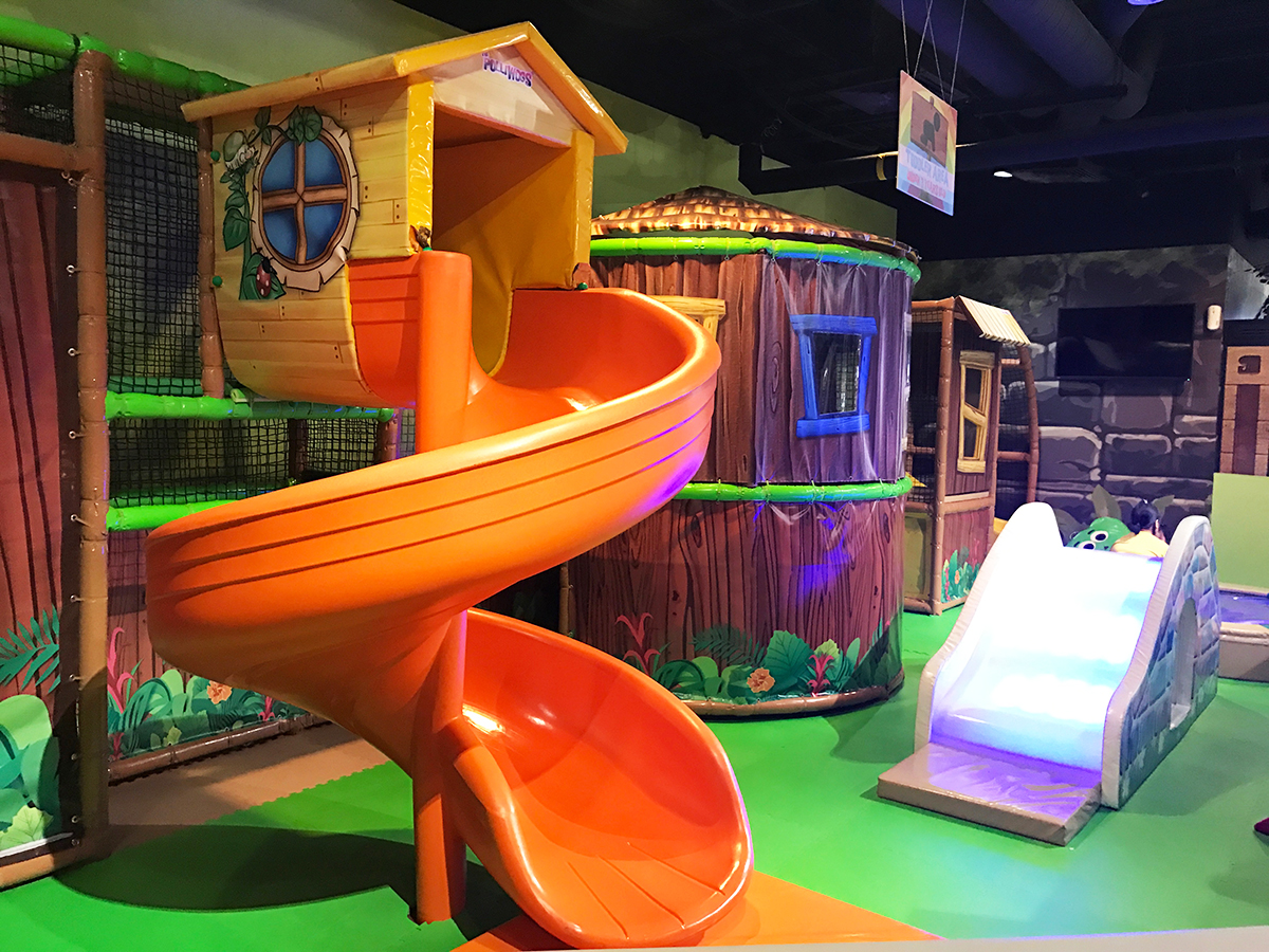 Polliwogs Indoor Playground - Things to do with kids in Singapore