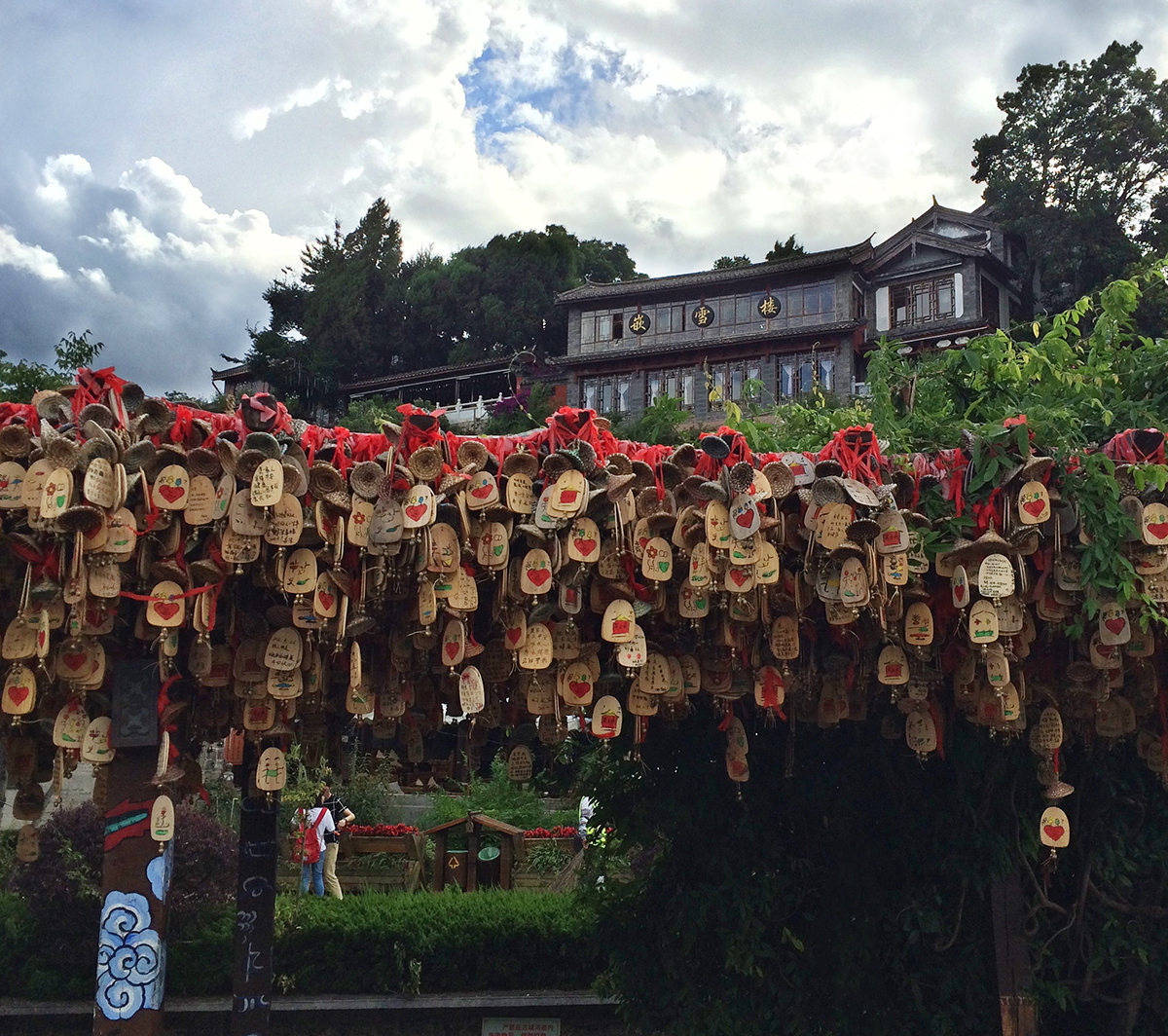 Chimes in Old Town Lijiang