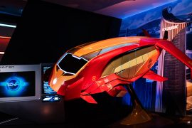 Iron Man Experience at Hong Kong Disneyland