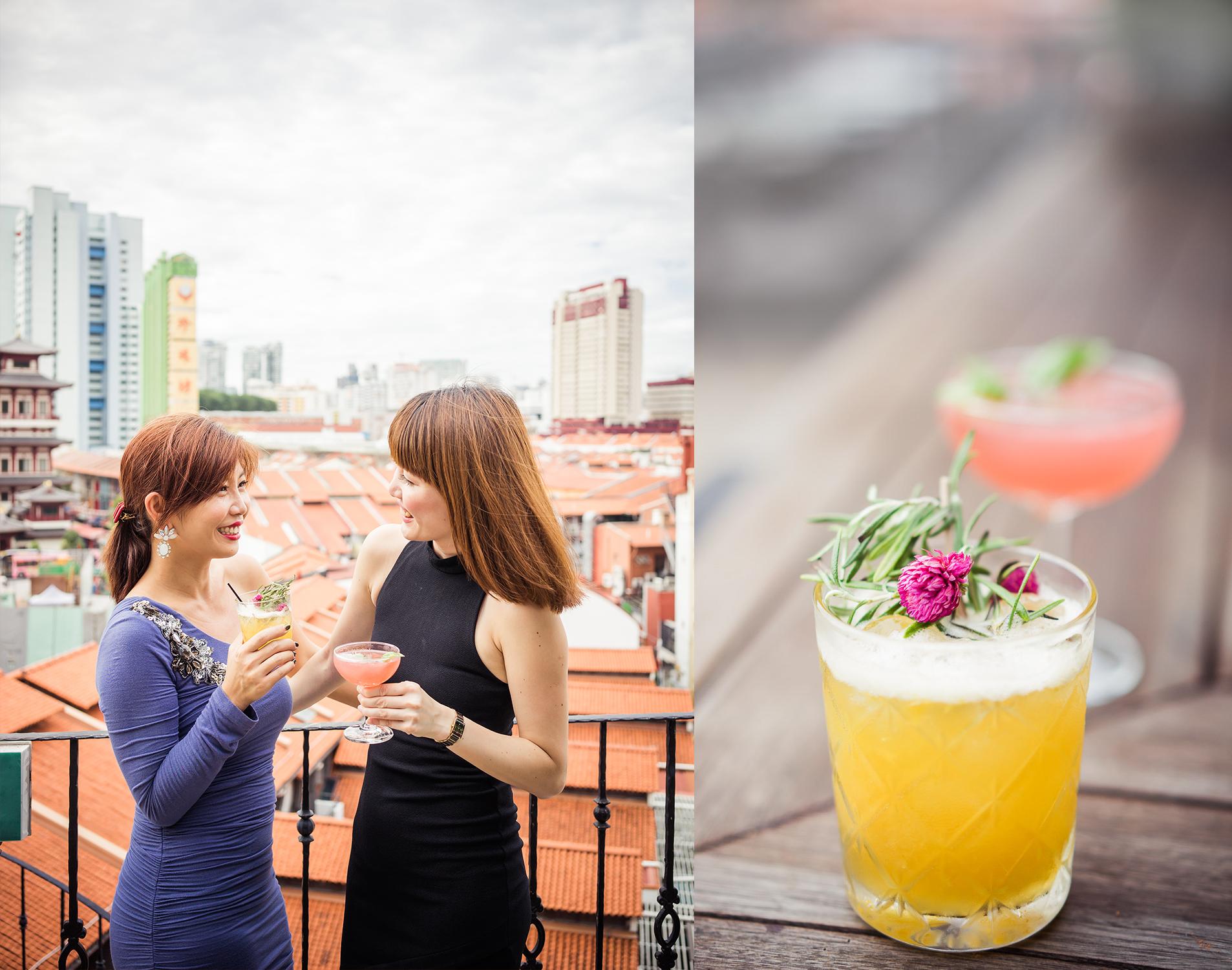Aria Rooftop Bar Club Street Singapore