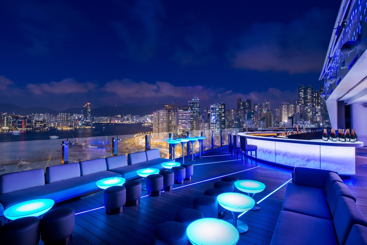 Skye Roofbar at Park Lane Hong Kong a Pullman Hotel
