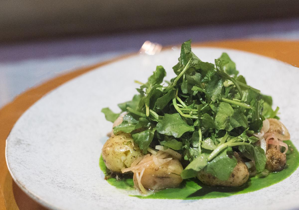 Grow Restaurant Bali Roasted Bone Marrow Salad2