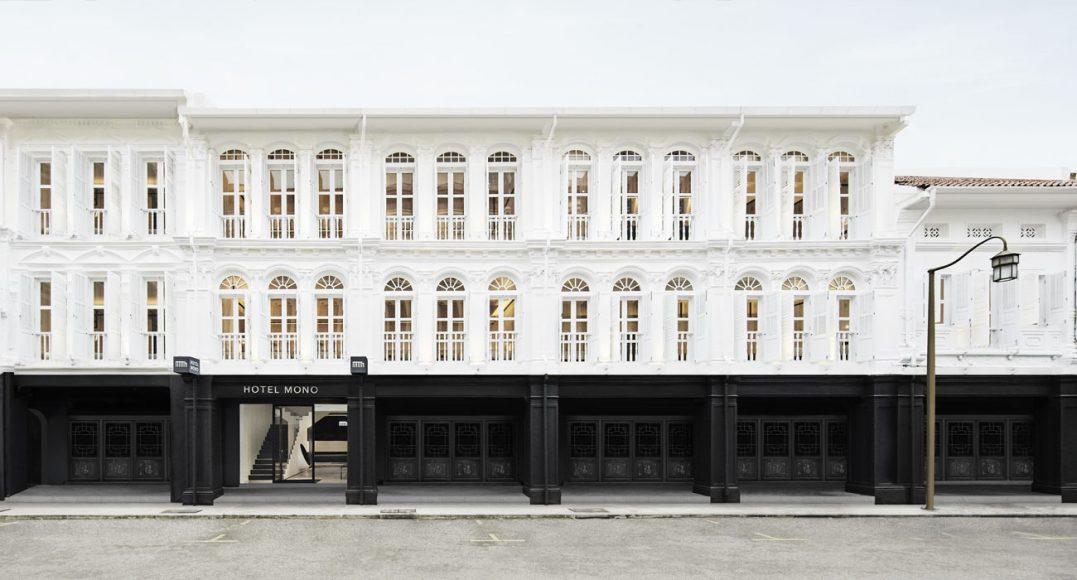 Hotel Mono Singapore Facade