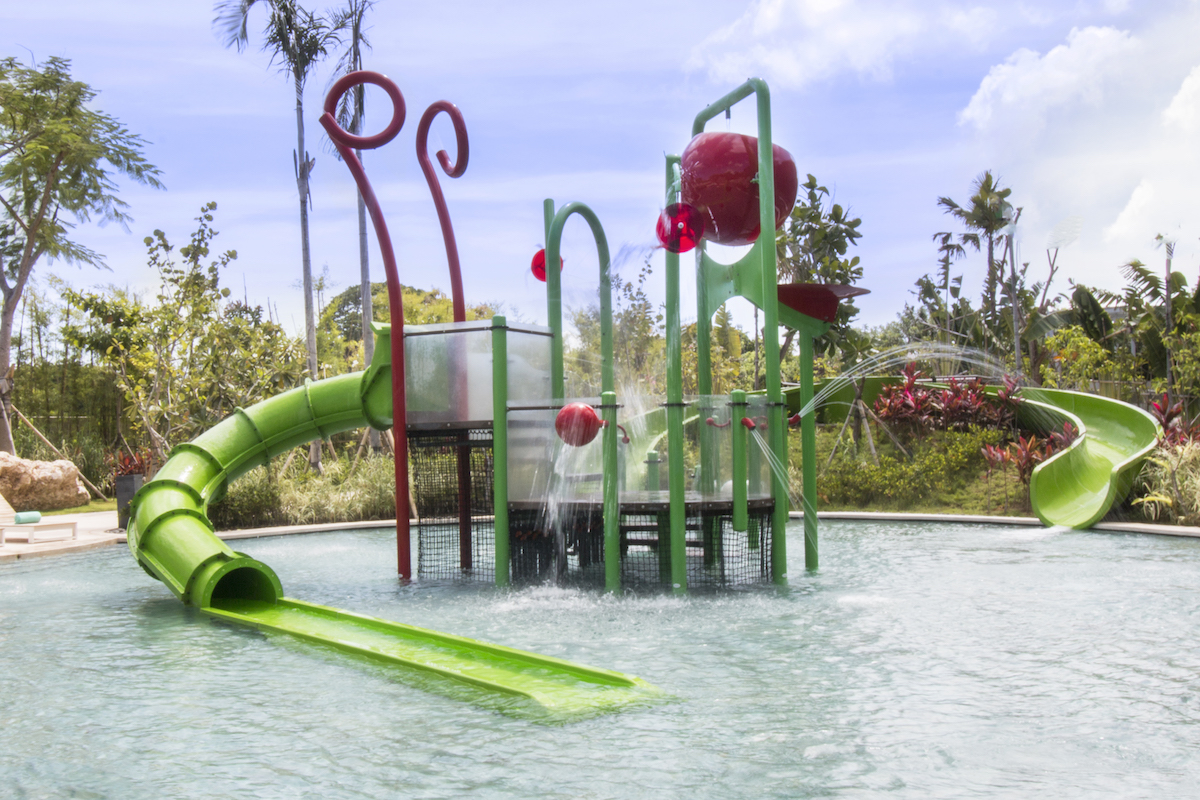 Movenpick Resort and Spa Jimbaran Bali Waterslides