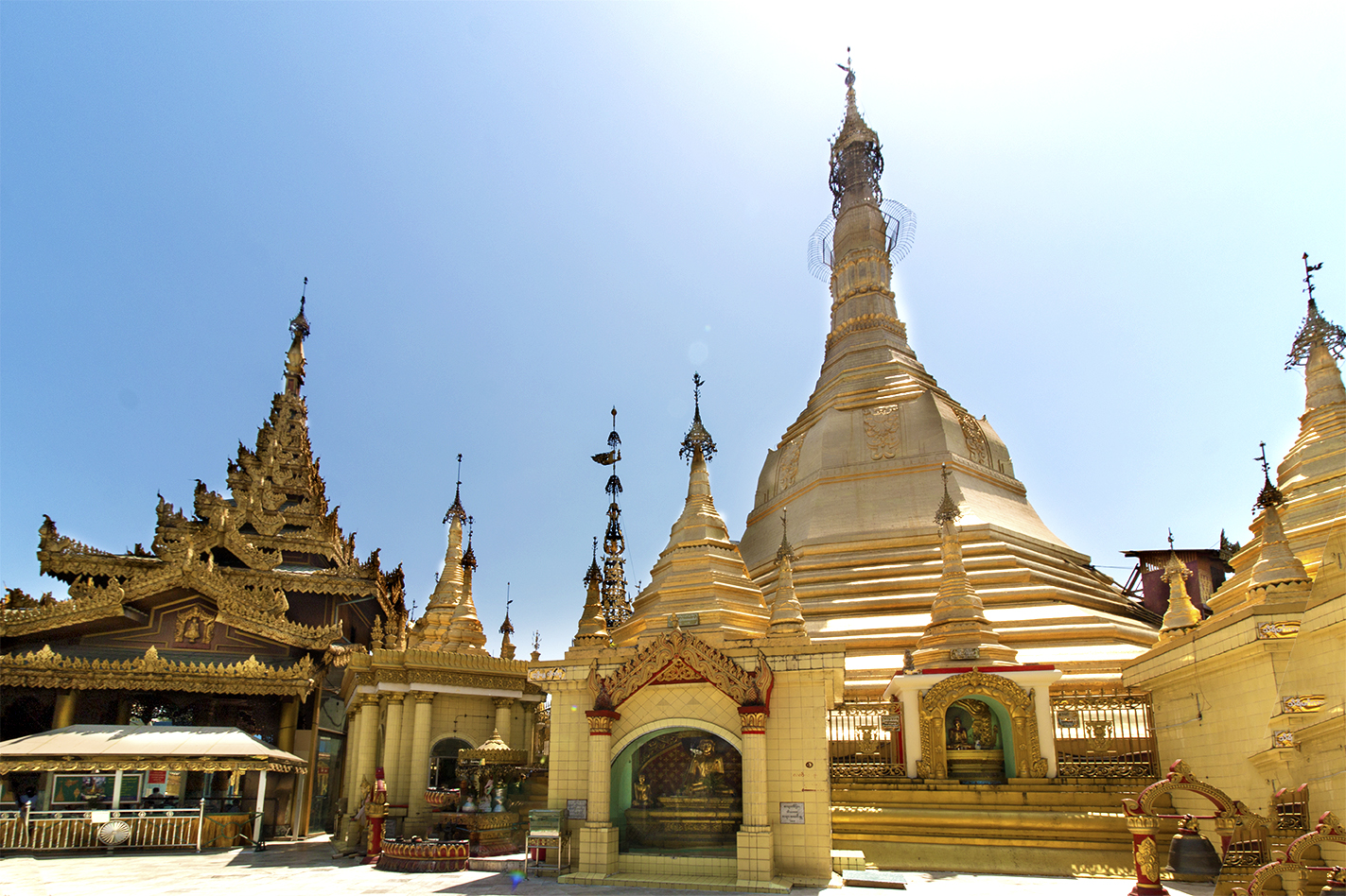 Alternative Things to do in Yangon - Sule Pagoda