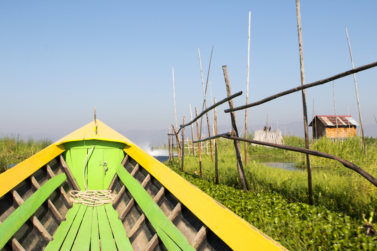 Inle Lake Myanmar Floating Gardens