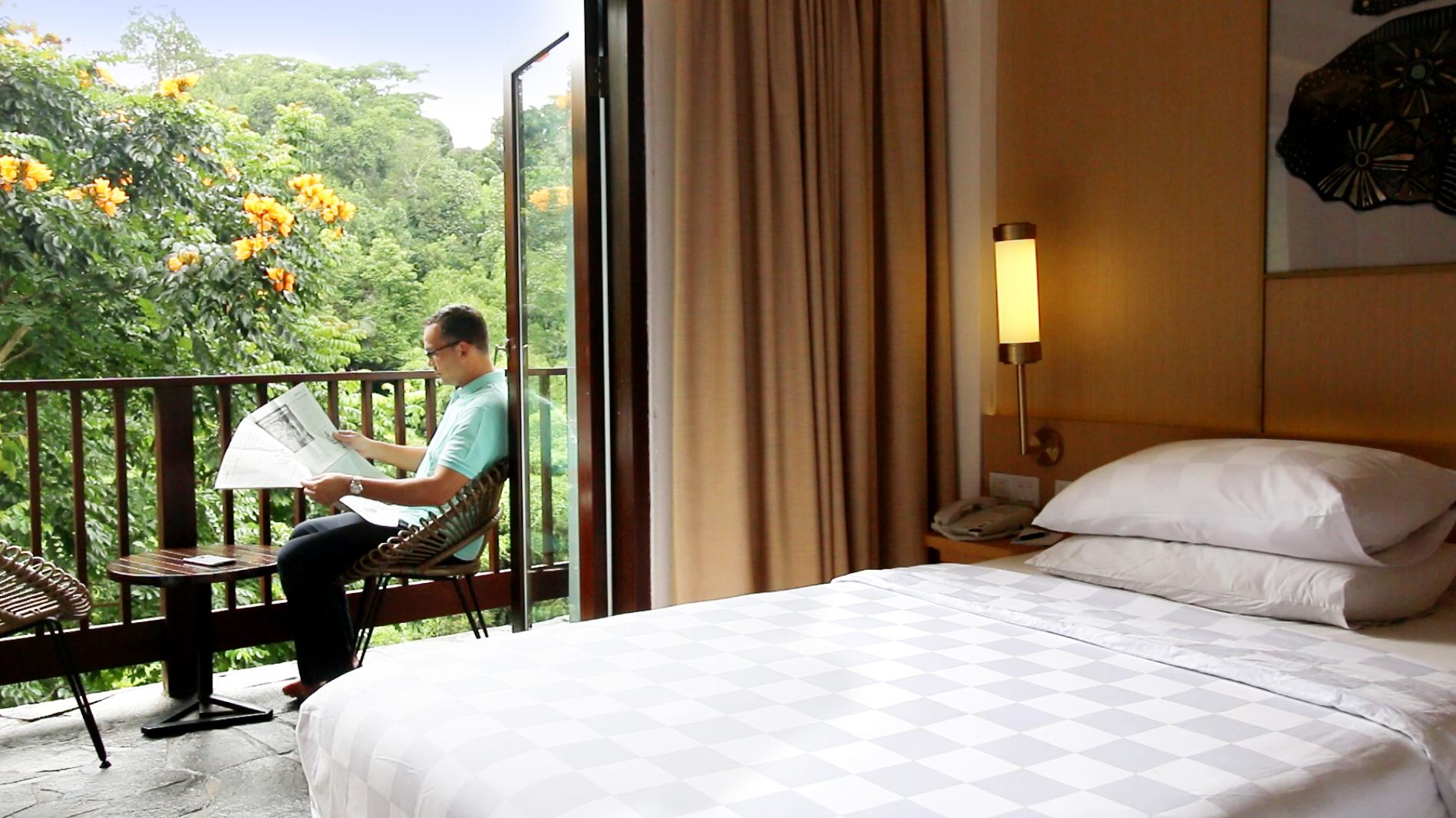 Padma Hotel Bandung Room Review