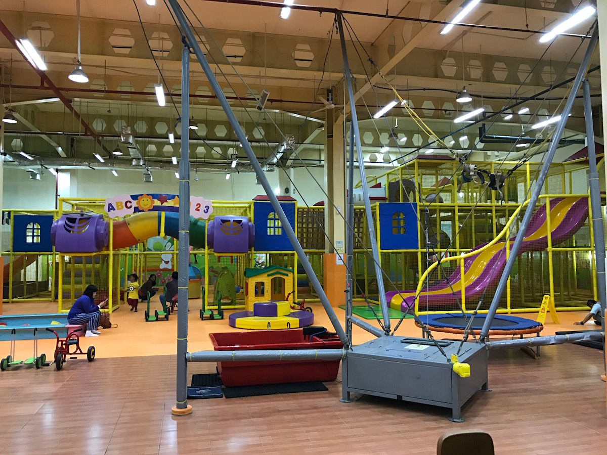 Things to do in Bandung with kids - Indoor Playground at Paris Van Java Mall