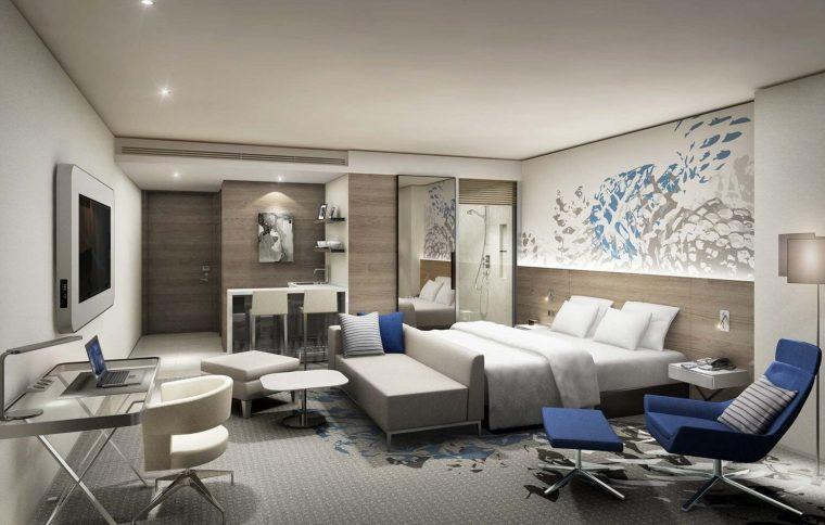 Seoul Dragon City Novotel Suites Room