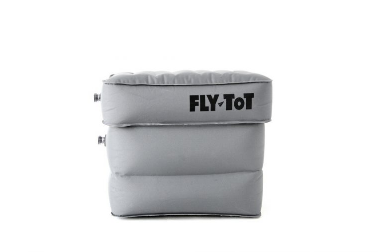 flytot bed flying with kids