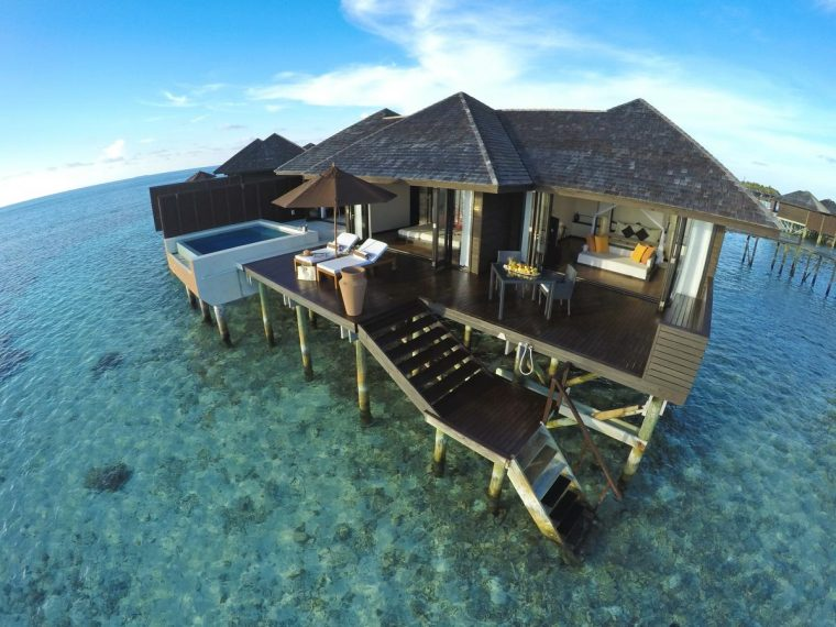 Maldives best house resorts Lily beach